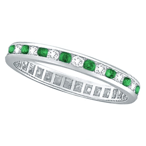 baguette band channel bands fancy cz products eternity jewelure set