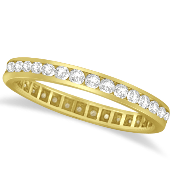 jewelyrie eternity gold ring band guard bands yellow spacer diamond pav product pave
