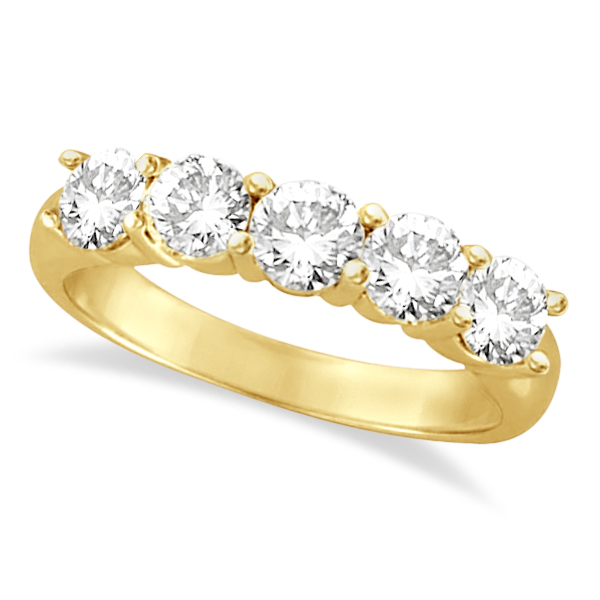 engagement gold stone solitaire yellow bands diamond side ring band