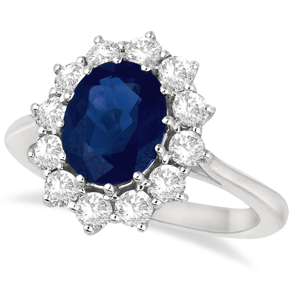 rings ring accent engagement baguette sapphire cut unusual diamond asscher blue