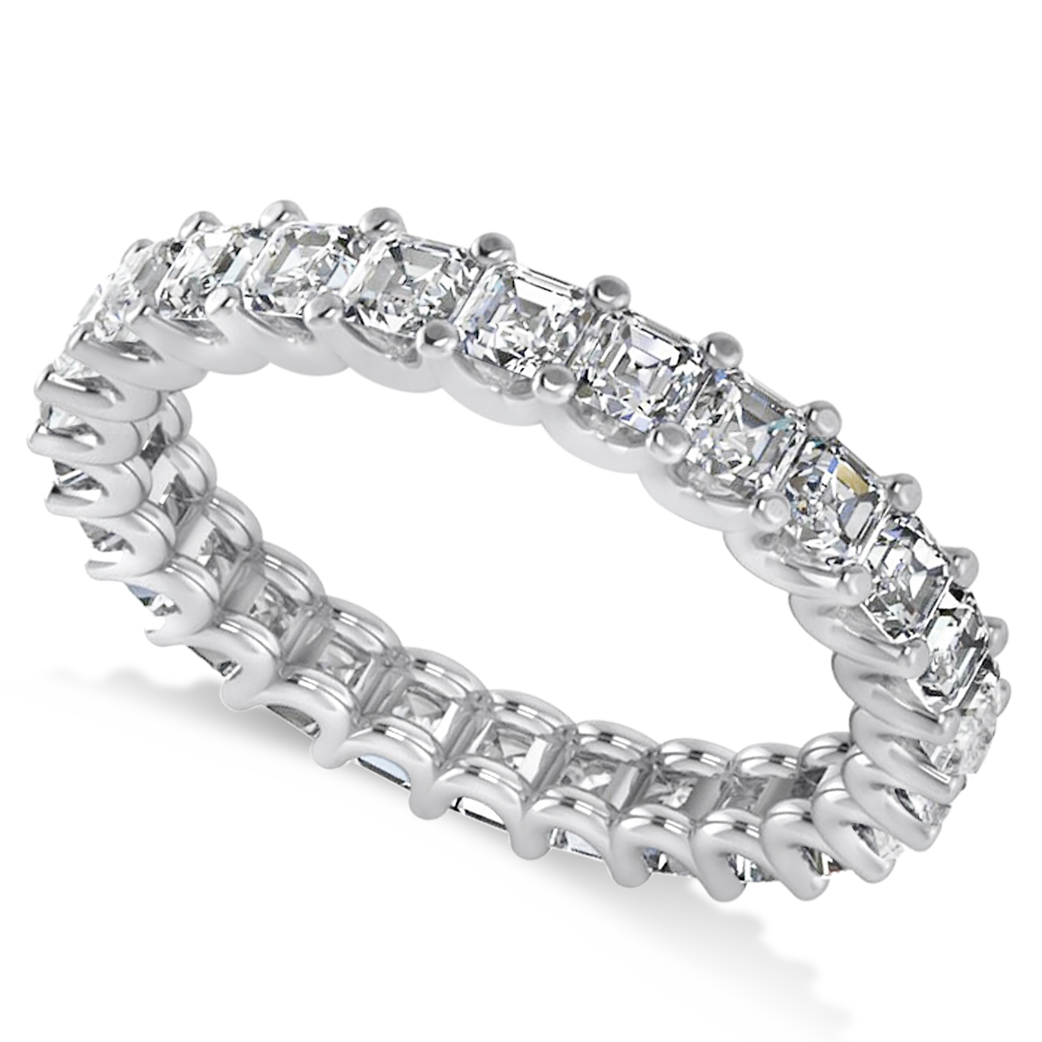all diamond perp five wedding white stone aspen w cts band gold bands products