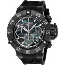 Invicta Men's 22922 Subaqua Quartz Chronograph Black, Antique Silver Dial Watch