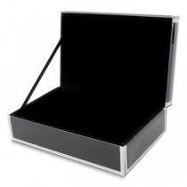 Women's Small Jewelry Box in Glass & Velvet in 5 Colors