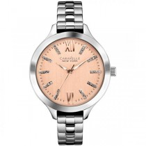 Caravelle Women's Blush Collection Bracelet Thin Band Watch