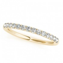 Diamond Wedding Ring Band 14k Yellow Gold (0.23ct)