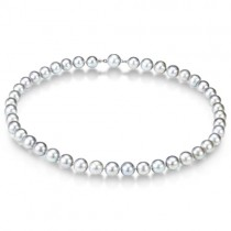 Freshwater Cultured Pearl Strand Necklace 18 inch (10-11mm)