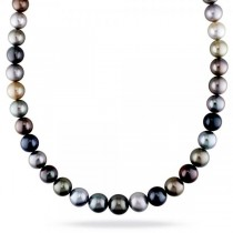 """South Sea & Tahitian Cultured Pearl Strand Necklace 18"""" 10-12.5mm"""