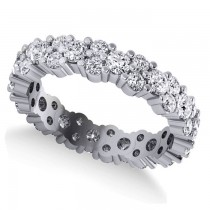 Garland Diamond Eternity Band Ring 14k White Gold (1.69ct)