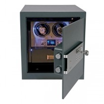 Rapport London Securita Safe and Double Watch Winder
